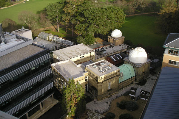 Aerial photo of the Old Observatory