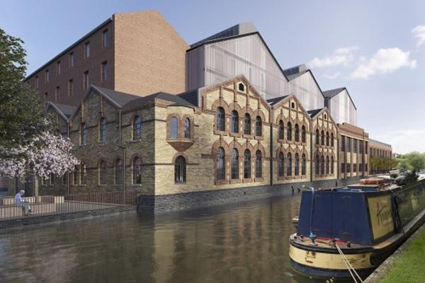 Mockup image of Osney Power Station development
