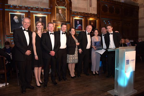 Capital Projects Team and others at the Oxfordshire Property Awards