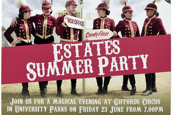 Estates Summer Party invitation