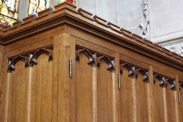 Detailed craftmanship in St Mary's Church