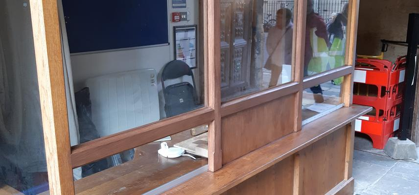 bodleian ticket office after renovations