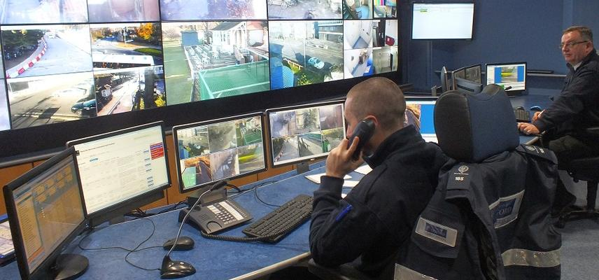 Security Services control room