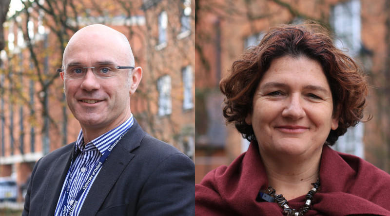 Composite portrait of Tom Yearley and Vered Balan