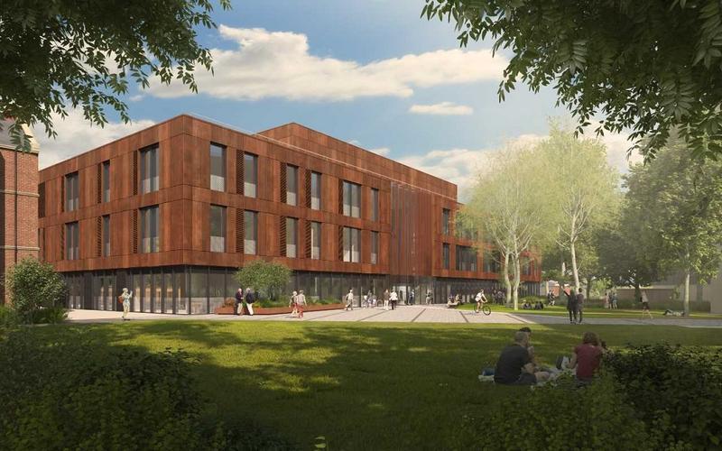 Illustration of IDRM building