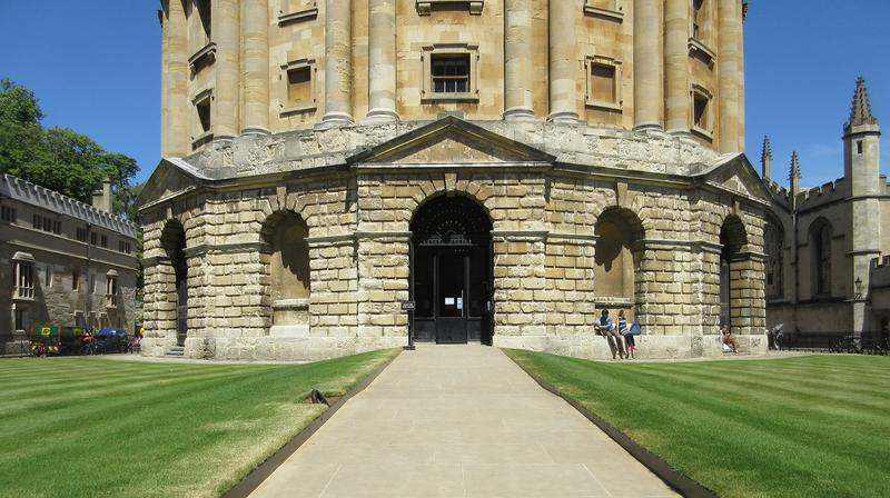 Radcliffe Camera ramp