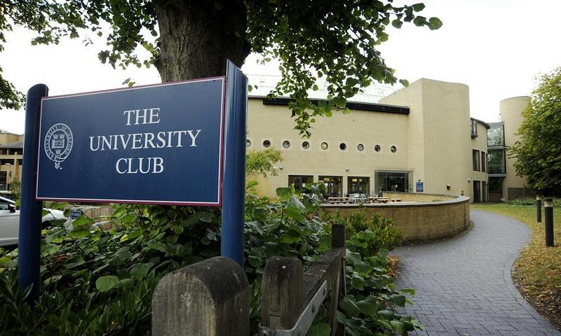 University Club exterior signage