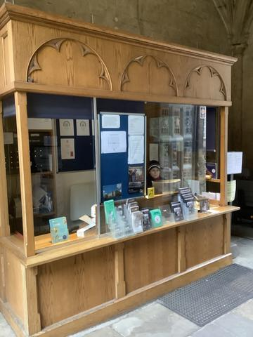 bodleian ticket office before renovations