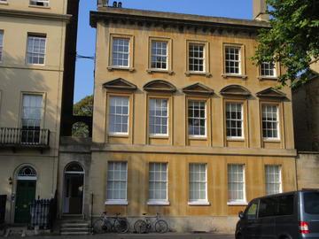 Photo of the exterior of Ertegun House
