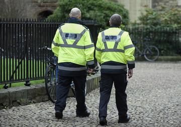 Security Services on patrol