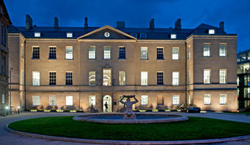 Landscape photo of the Radcliffe Infirmary building