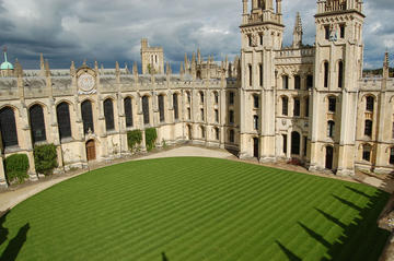 Image of All Souls turf renovation