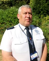 Portrait photo of Mark Curtis in Security Services uniform